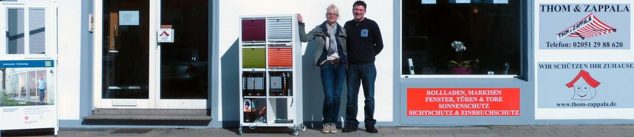 Thom & Zappala GmbH Velbert | Markisen und Rollladen